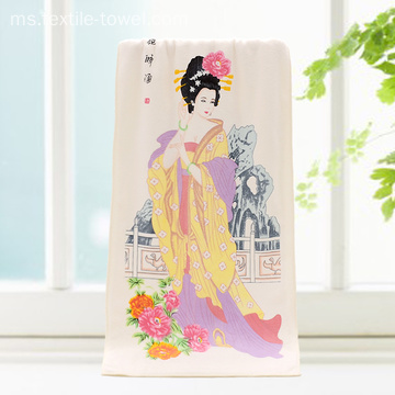 Beauty Color Change Bath Towels